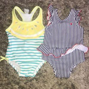 Baby girl bathing suit bundle 💜